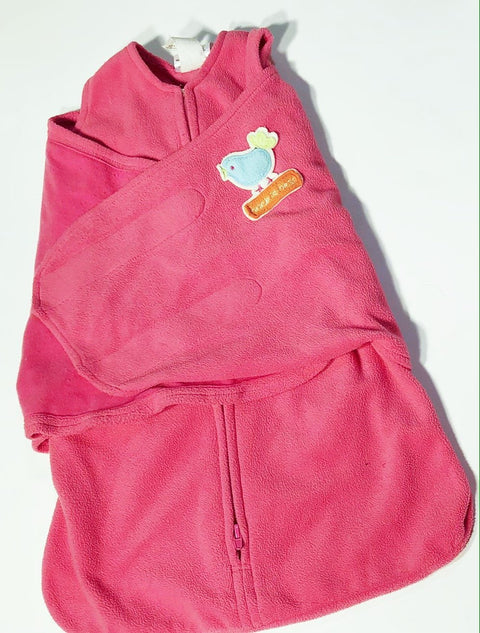 Halo sleep sack pink fleece -newborn (6-12 lbs)-Fresh Kids Inc.