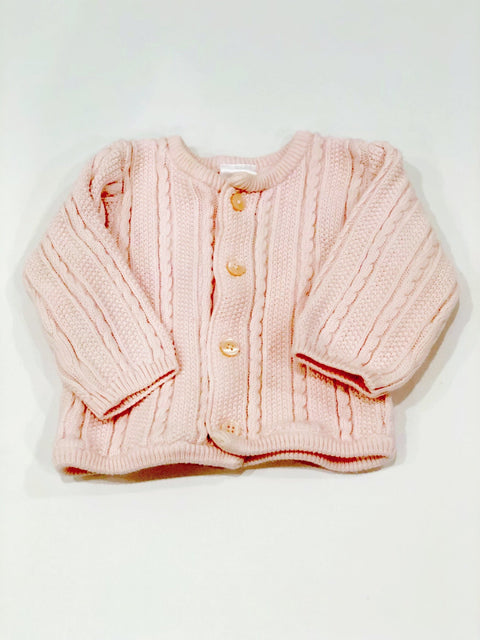 Hanna Andersson cardigan pink size 3m (EU 60)