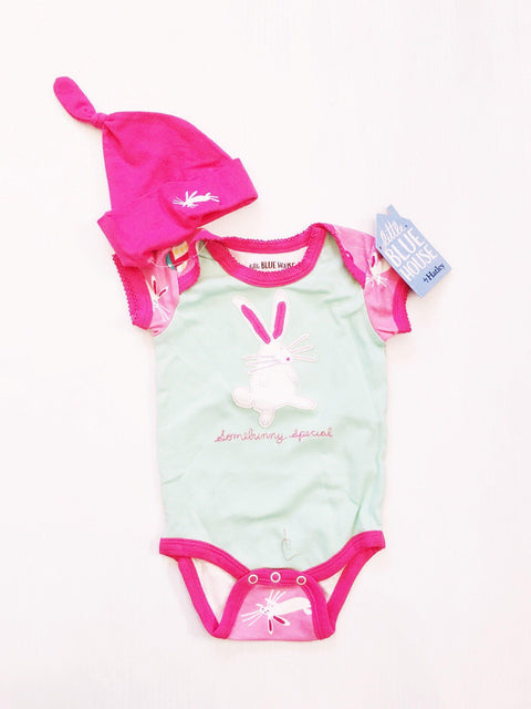 Hatley onesie and hat BNwt