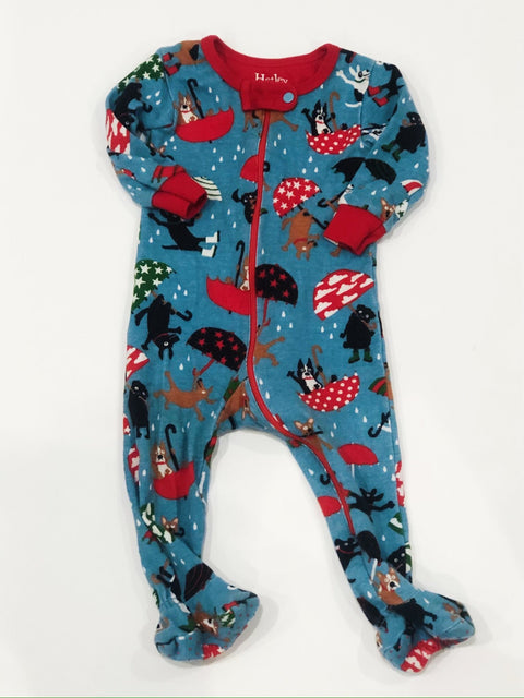 Hatley sleeper zip-up 3-6m