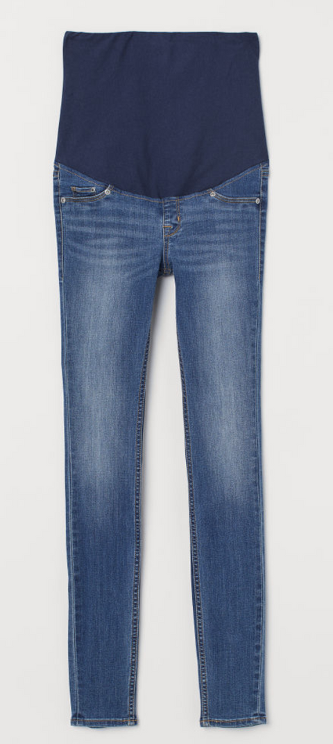 H&M Mama super skinny jeans - size 8 US-Fresh Kids Inc.