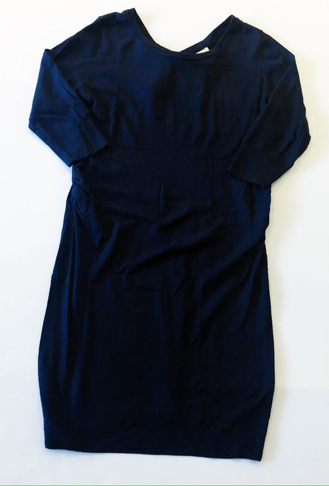 H&M navy knit tunic dress - large