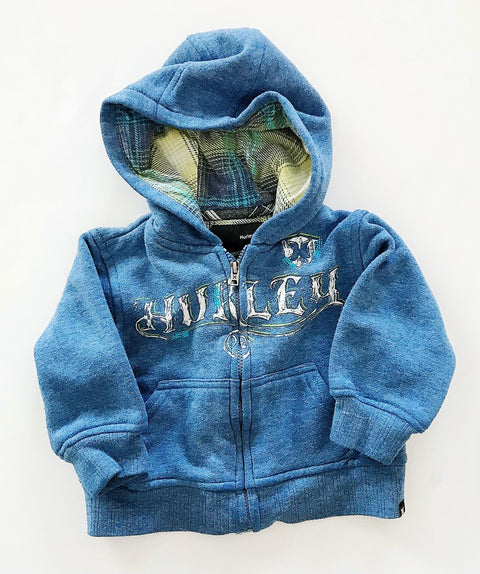 Hurley zip-up hoodie 12m-Fresh Kids Inc.