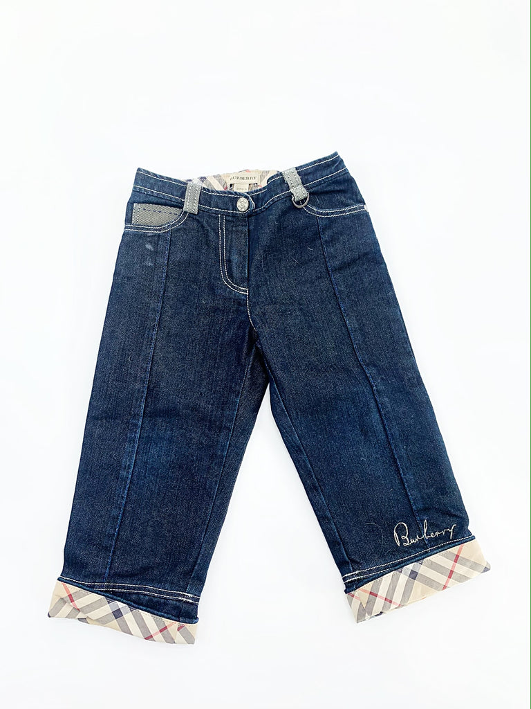 Burberry jeans size 2