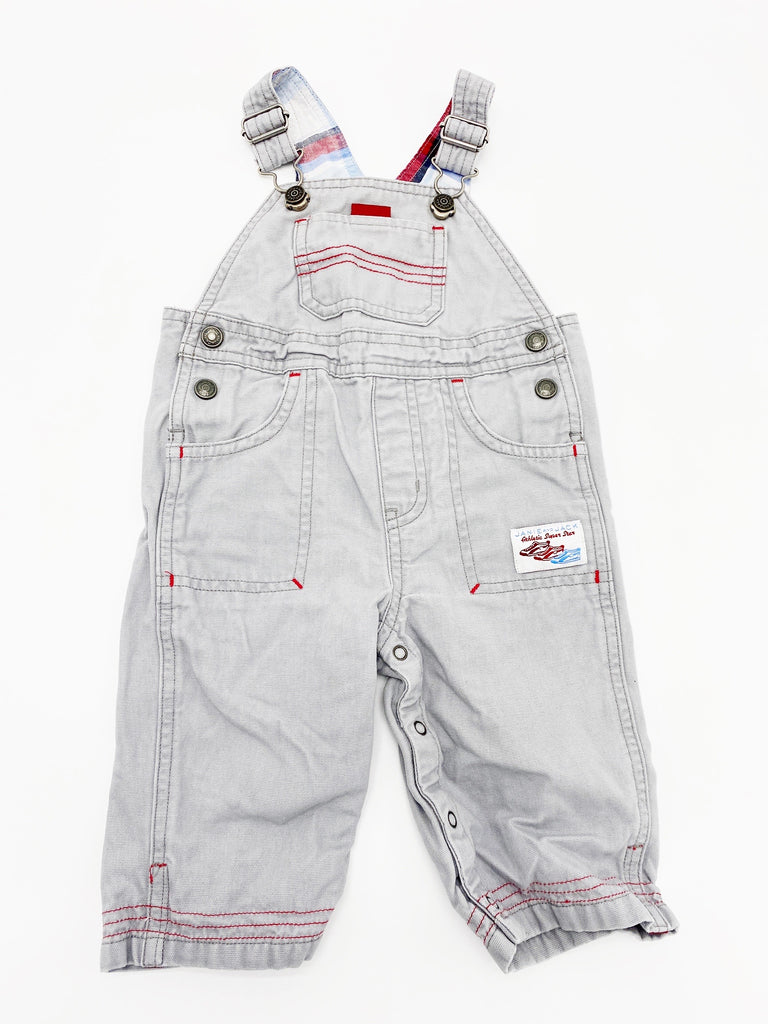 Janie and Jack overalls 0-6m