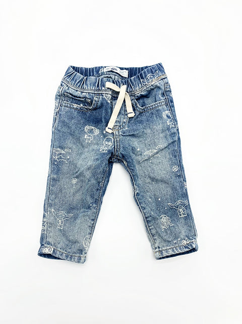 Gap bottoms size 3-6m STAR WARS