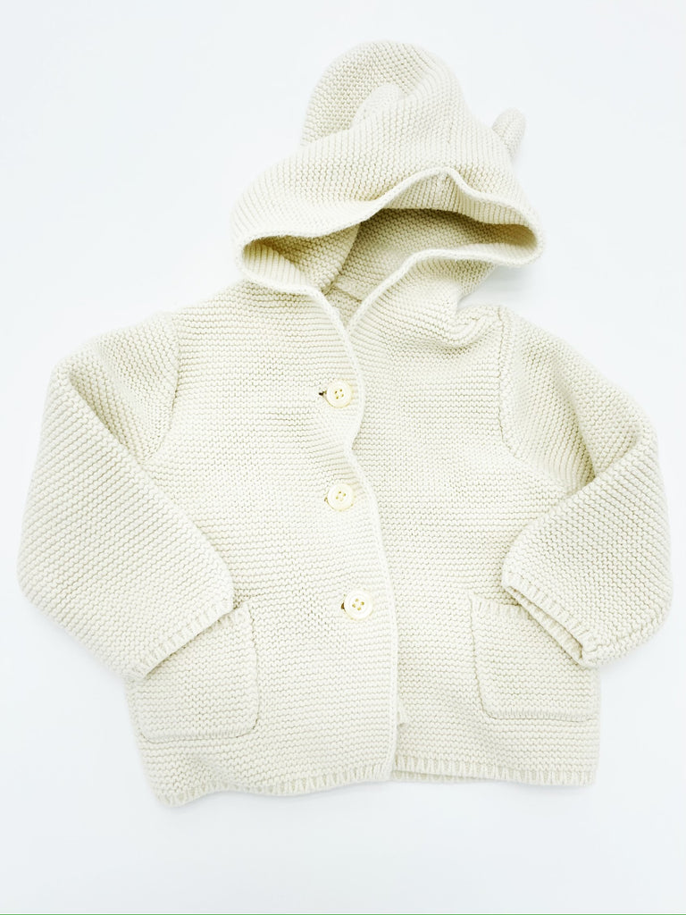 Gap bear garter cardigan 6-12m