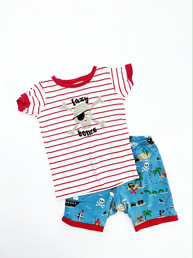 Little Blue Canoe sleep set size 6