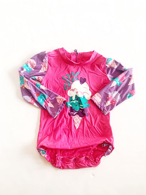Hatley rash guard size 18-24m