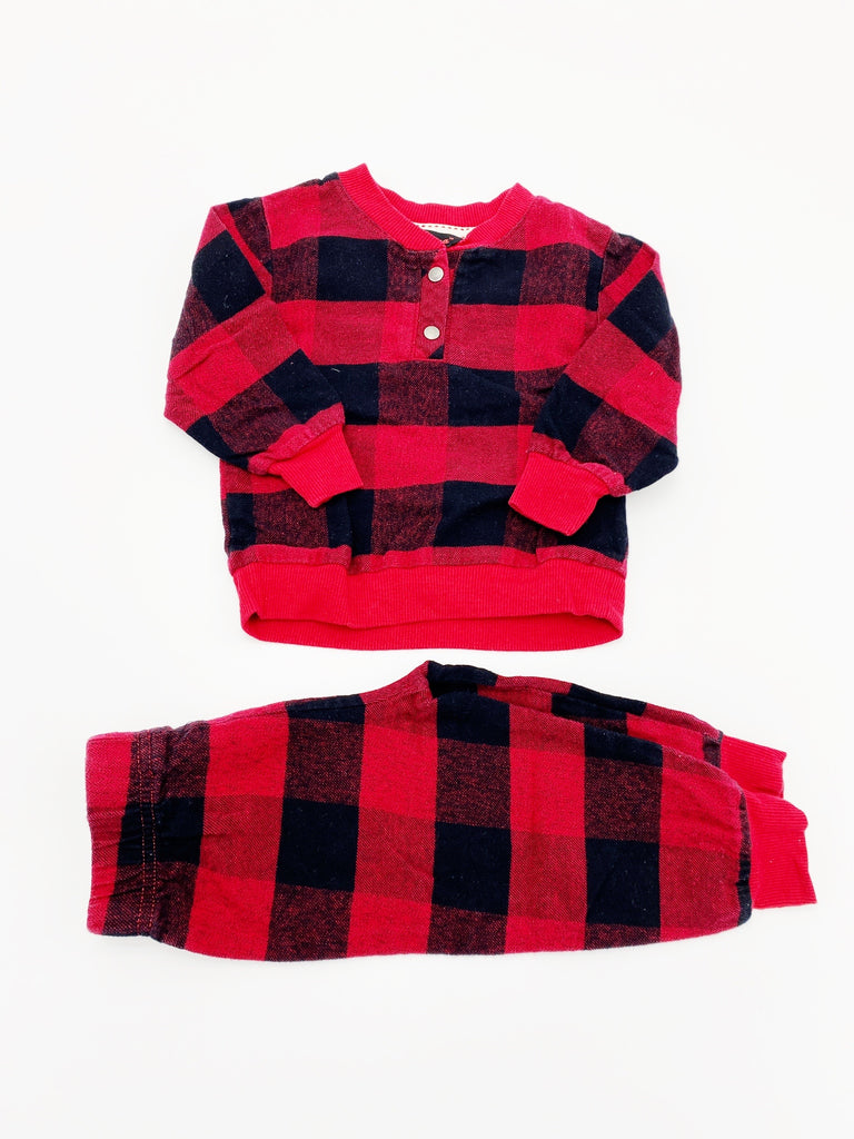 Canadiana pajamas 6-12m