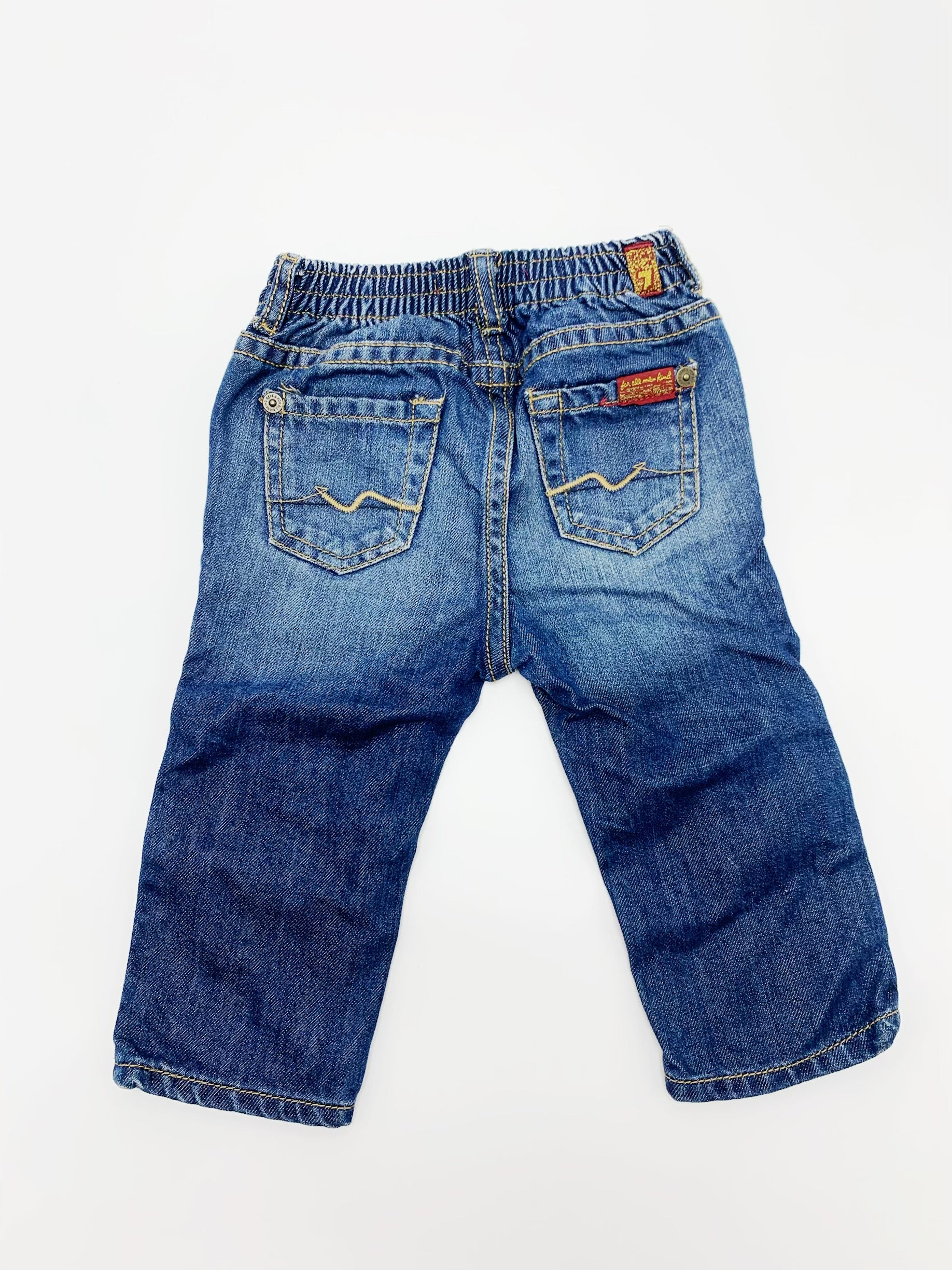 7 for All Mankind jeans size 6-9m