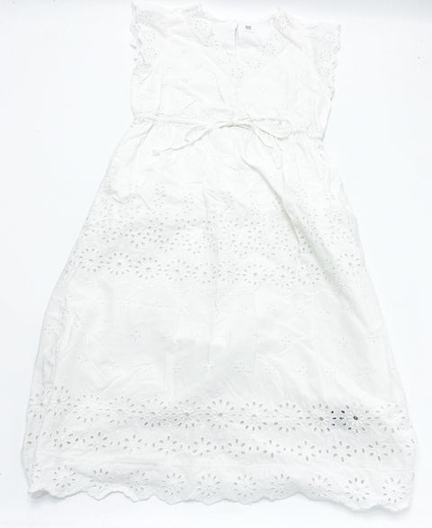 Gap Maternity white eyelet dress  x-small