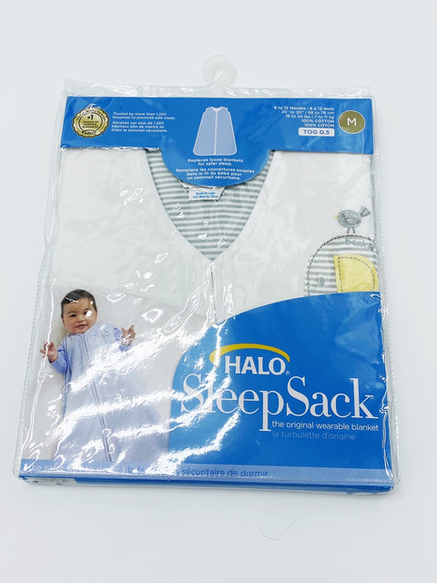 Halo Sleep Sack - 6-12m 0.5 TOG BRAND NEW IN PACKAGE
