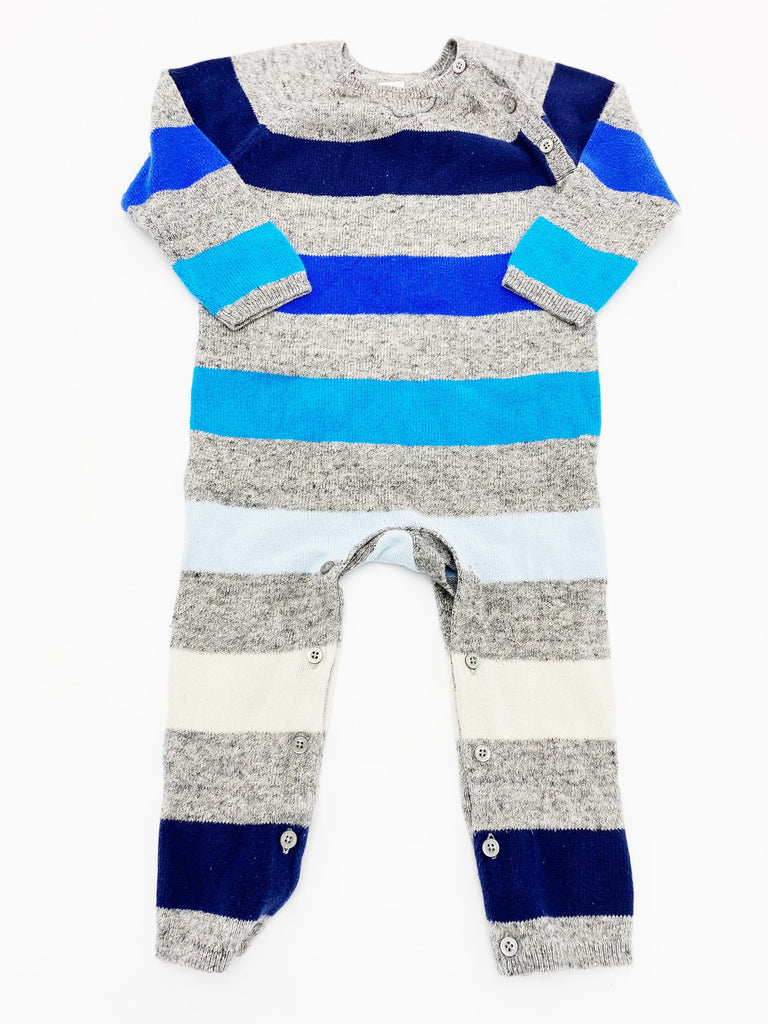 Gap knit romper 18-24m