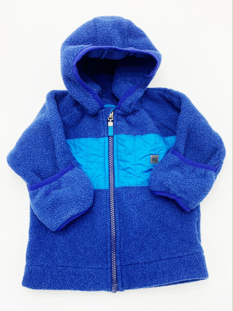 MEC zip-up fleece 6m