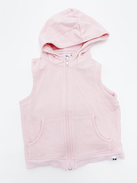Little Citizens zip sleeveless hoodie 24-36m