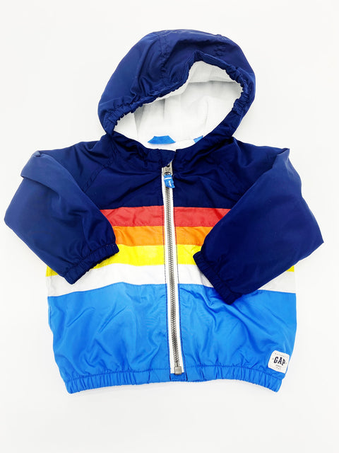 Gap lightweight lined jacket 6-12m