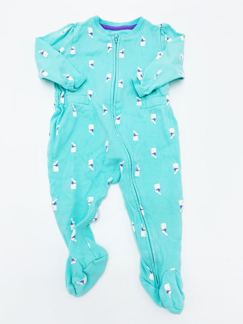 Gap zip sleeper 3-6m