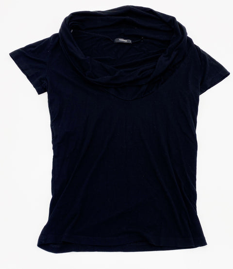 Noppies black cowl-neck top - small