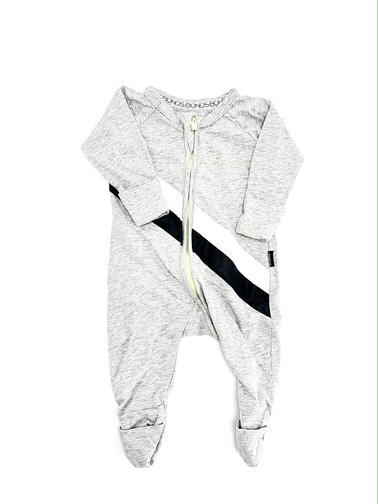 Bonds wondersuit size newborn