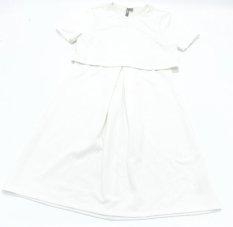 ASOS white maternity dress - size US 4 (x-small/small)