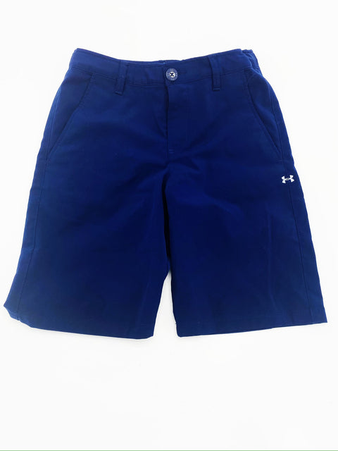 Under Armour navy shorts - medium (8-10)