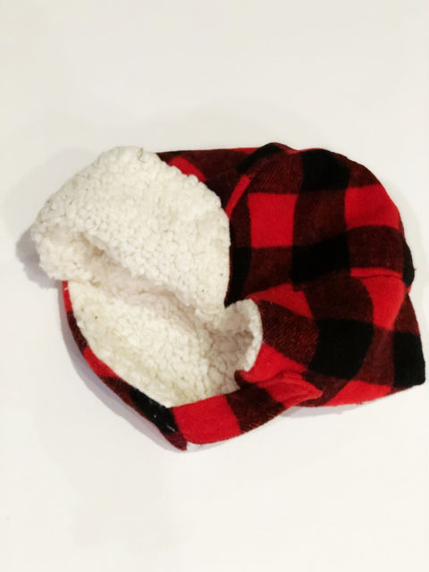 Indigo winter hat 6-12m