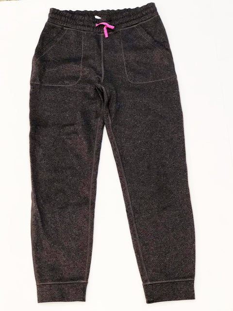 Ivivva bottoms - grey joggers - size 10-Fresh Kids Inc.