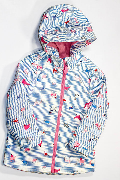 Joules raincoat lined size 3-Fresh Kids Inc.