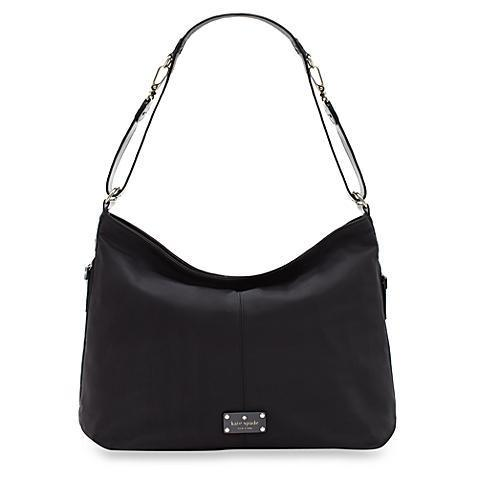 "Kate Spade ""Denise"" nylon diaper bag in black"