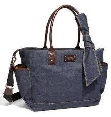 Kate Spade Dungarees Denim Diaper Bag
