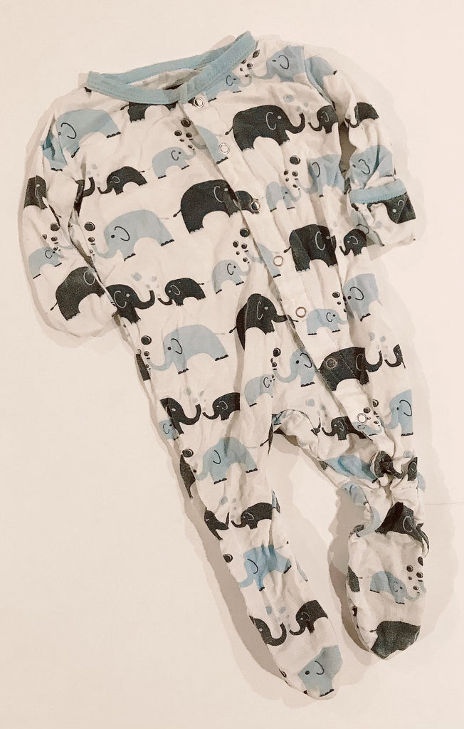 Kickee Pants sleeper 0-3 m m-Fresh Kids Inc.