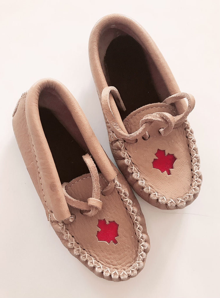Laurentian Chief moccasins toddler 9-Fresh Kids Inc.
