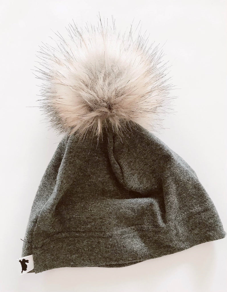 Little & Lively pompom hat - small-Fresh Kids Inc.
