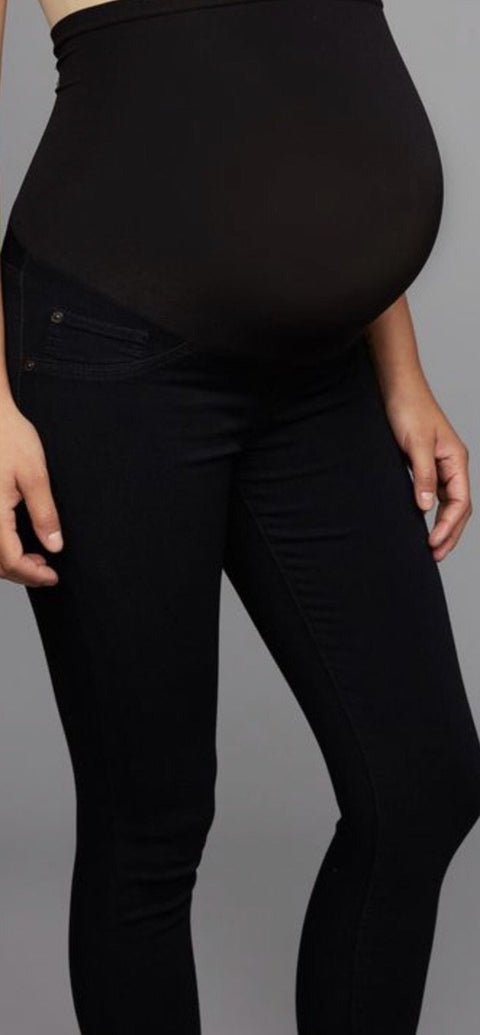 Luxe Essentials Denim skinny black jeans - size 26