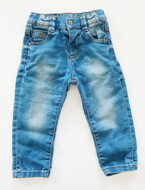 Mayoral jeans - soft skinny stretch - 12m-Fresh Kids Inc.