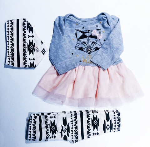 Mini Heroes outfit 6m