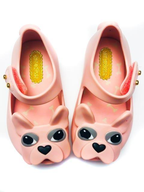 Mini Melissa shoes - pink puppy - size 5-Fresh Kids Inc.