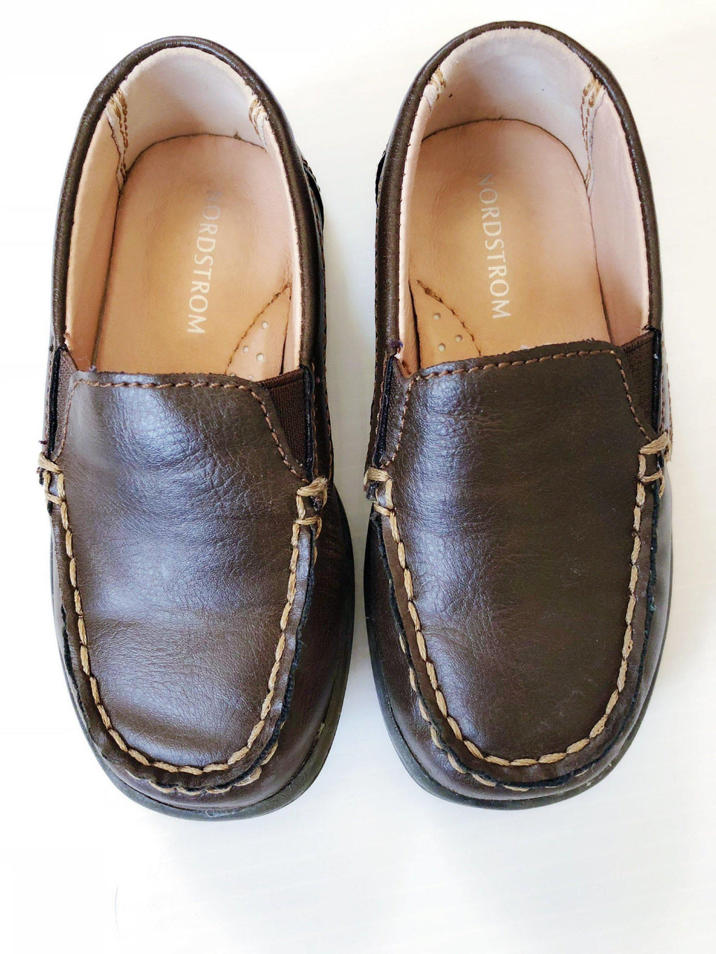 Nordstrom leather loafers size 7.5 (new)