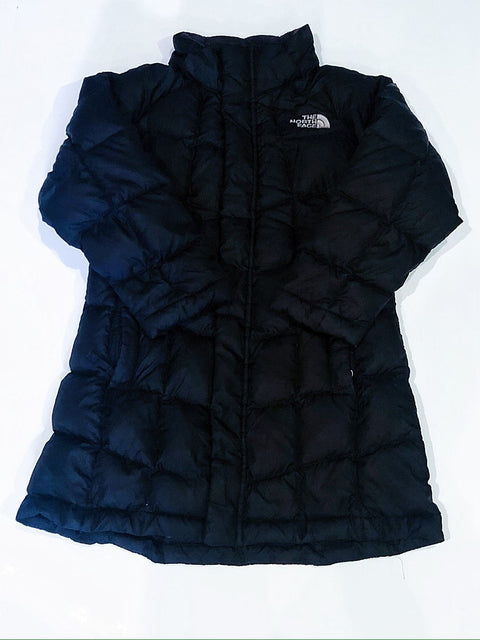 North Face down jacket black size 5