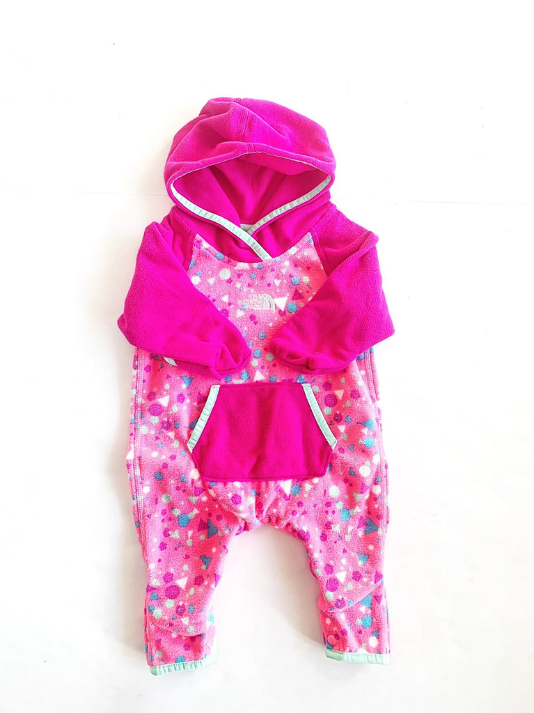 North Face fleece bunting size 0-3m-Fresh Kids Inc.