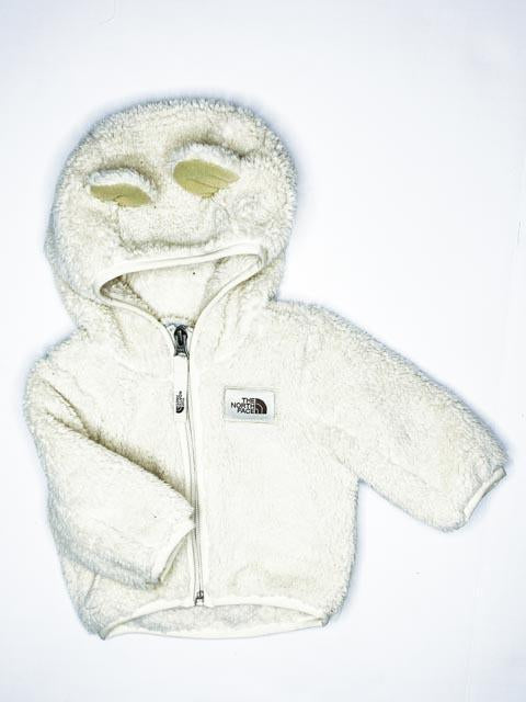 North Face fleece zip-up 0-3m-Fresh Kids Inc.