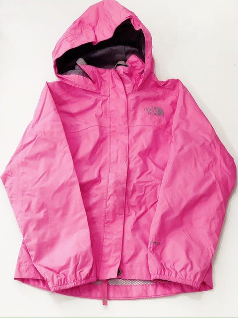 North Face rain jacket size 6