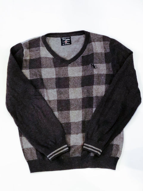 Nukutavake sweater v-neck size 12-Fresh Kids Inc.