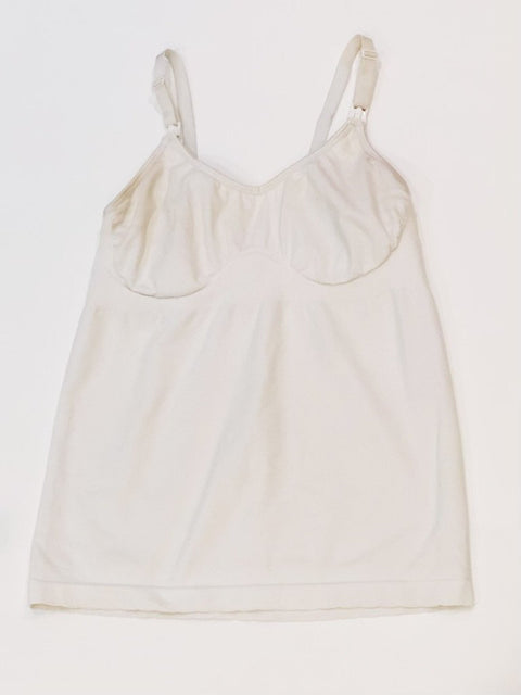 Nursing cami white medium