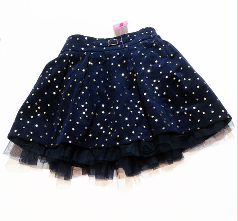 Nutmeg skirt - navy light cord - size 2-3 BRAND NEW