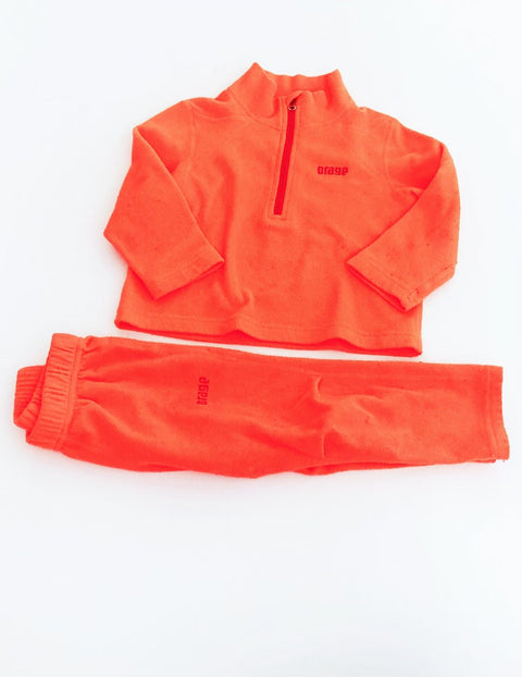 Orage fleece top & bottom size 2-Fresh Kids Inc.