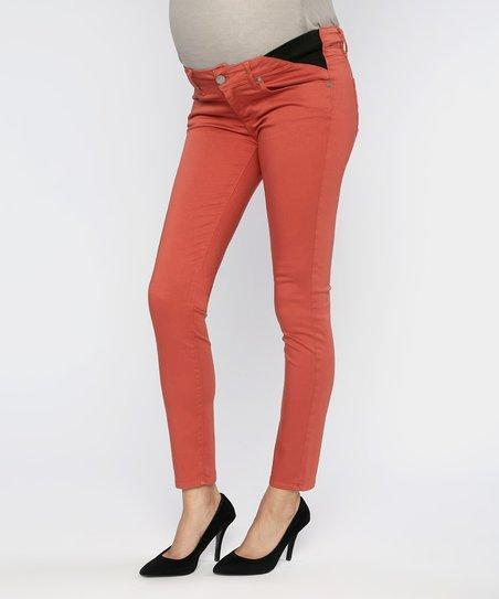 "Paige ""Verdugo Ankle"" maternity skinny jeans size 30"