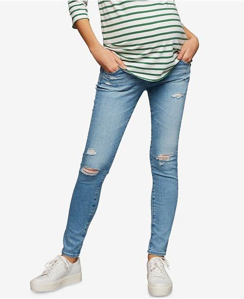Pea in the Pod skinny distressed jeans size 27-Fresh Kids Inc.