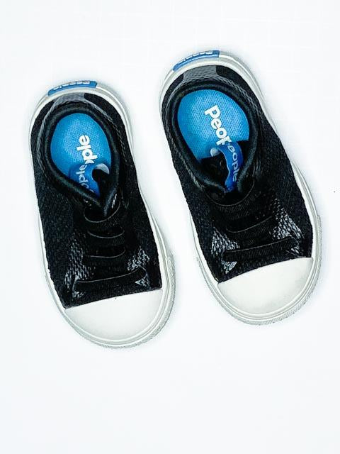 People shoes black toddler size 4-Fresh Kids Inc.